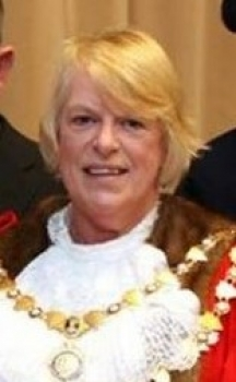 Cllr Jan Goffey, Mayor of Okehampton 2016-17