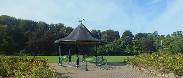 Band Stand in Simmons Park, Okehampton